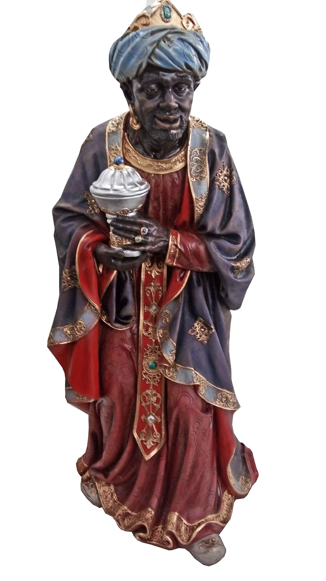 Rei Mago Baltazar - 100 cm