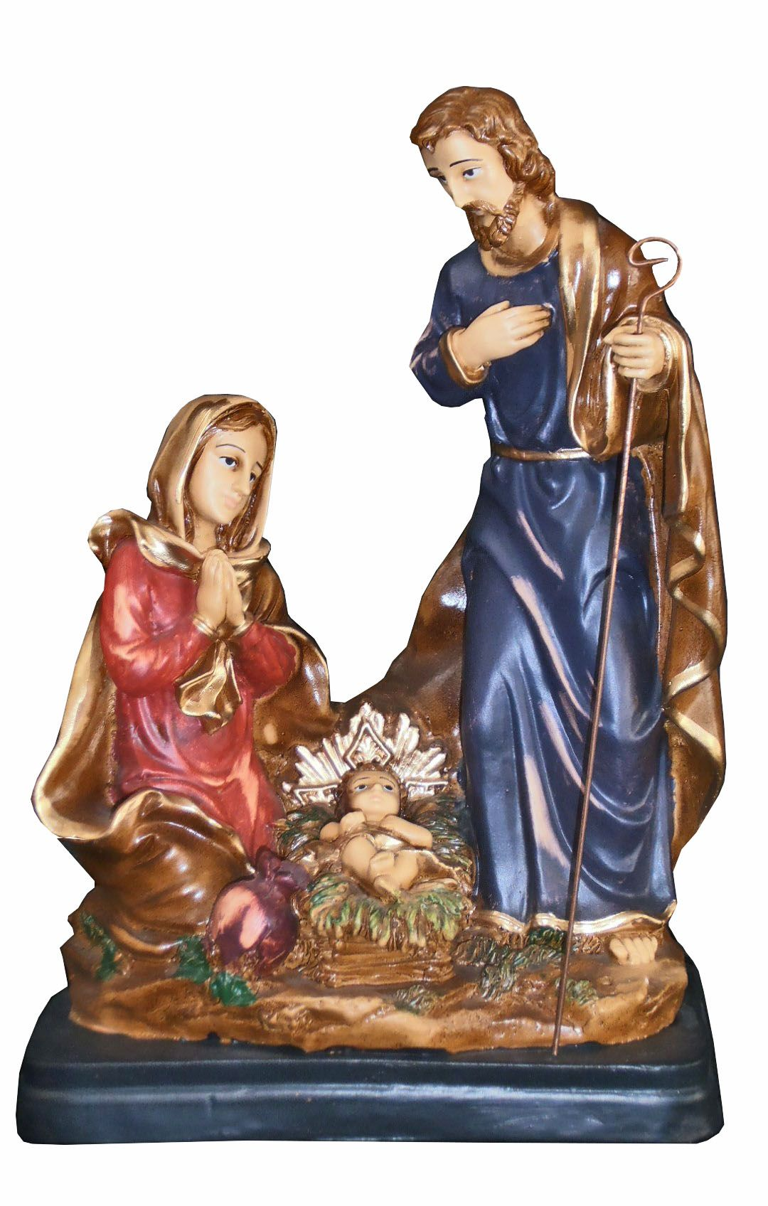 Sagrada Família  Natal modelo 2 - 33 cm