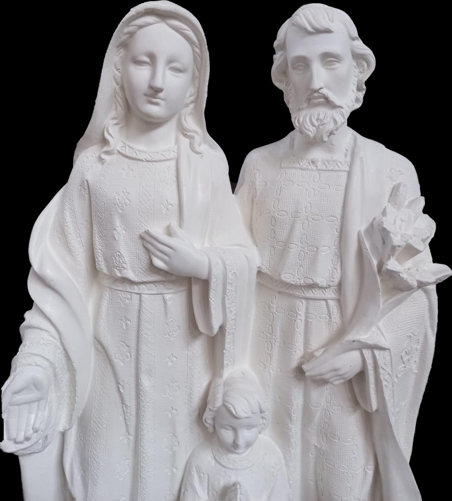 Sagrada Família - 50 cm - Pó de mármore