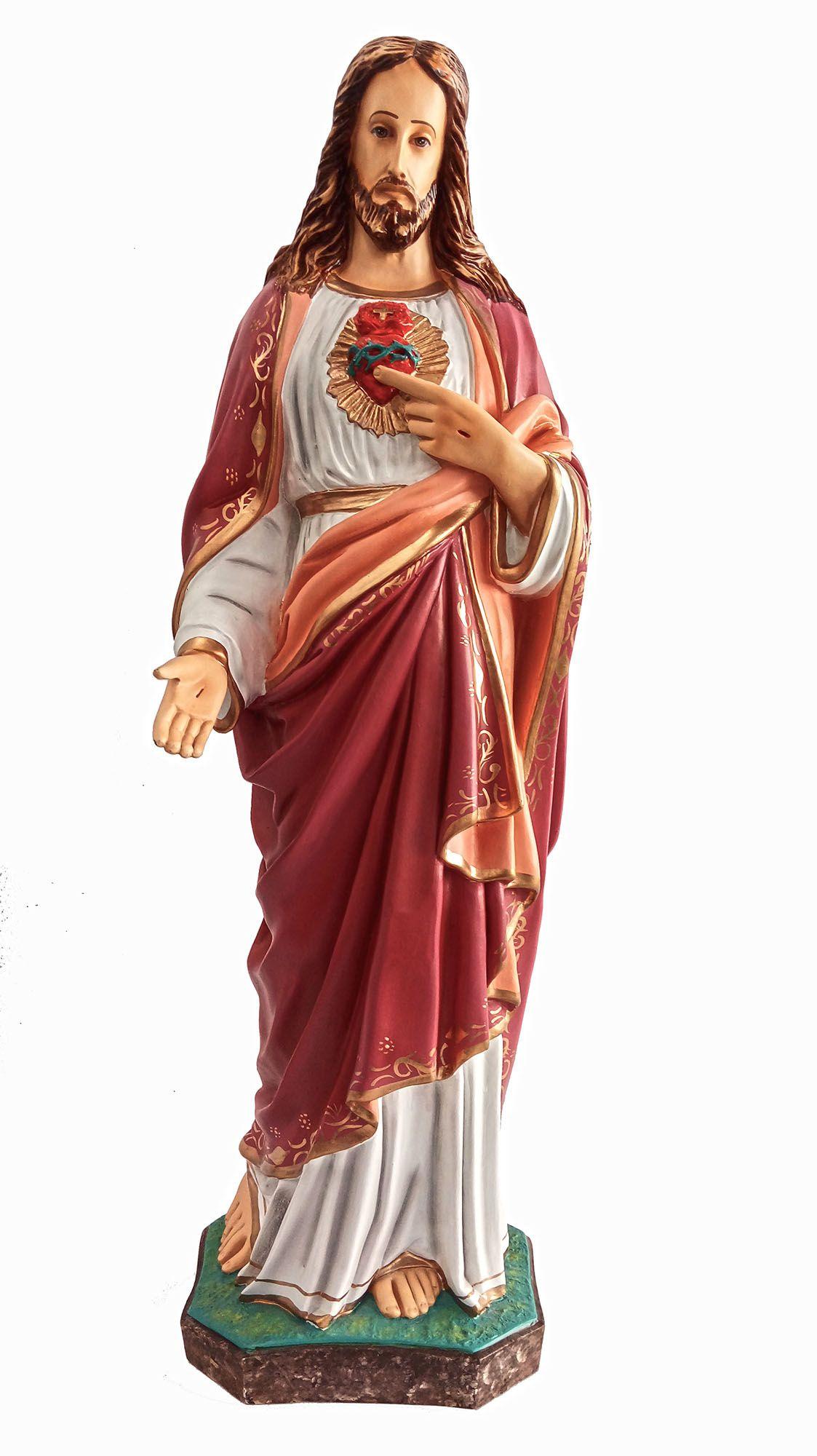 Sagrado Coração de Jesus - 80 cm