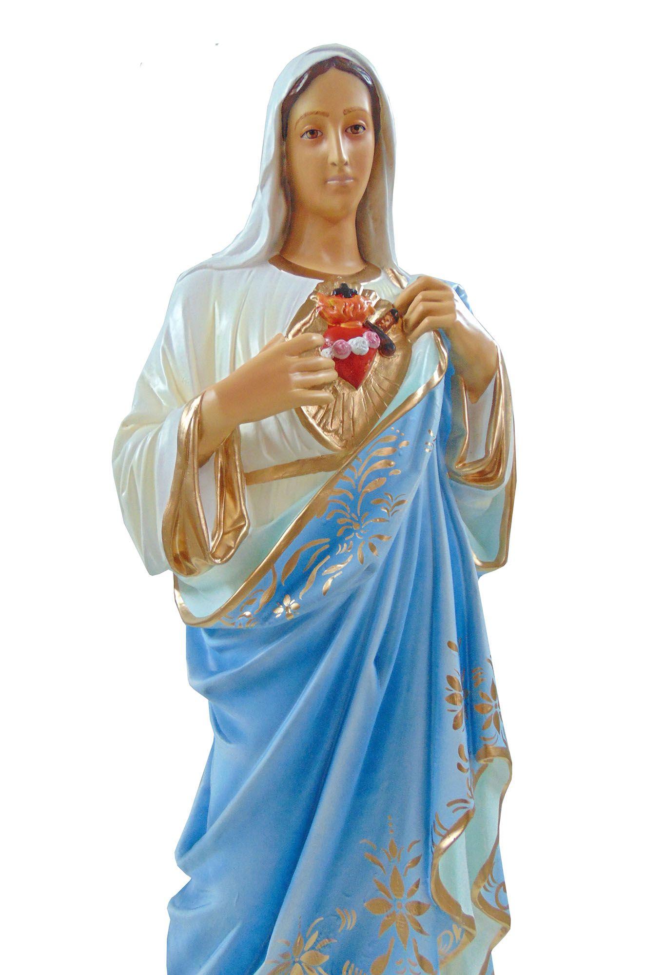 Sagrado Coração de Maria - 100 cm