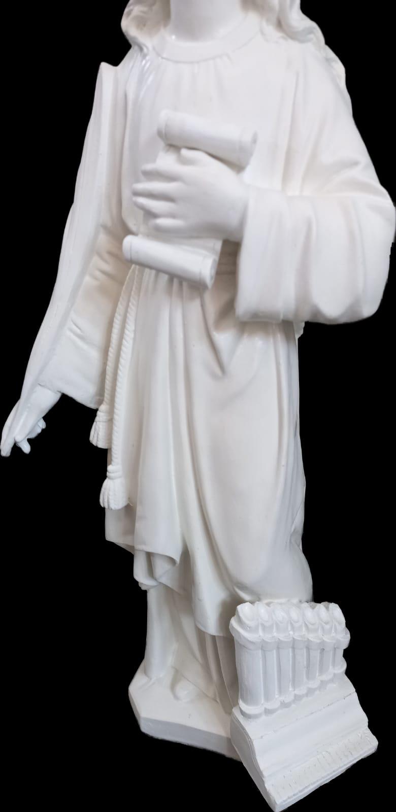 Santa Cecília (pó de mármore) - 50 cm