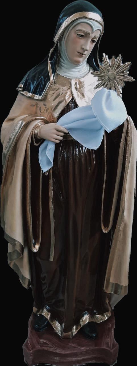 Santa Clara (estilizada) - 80 cm