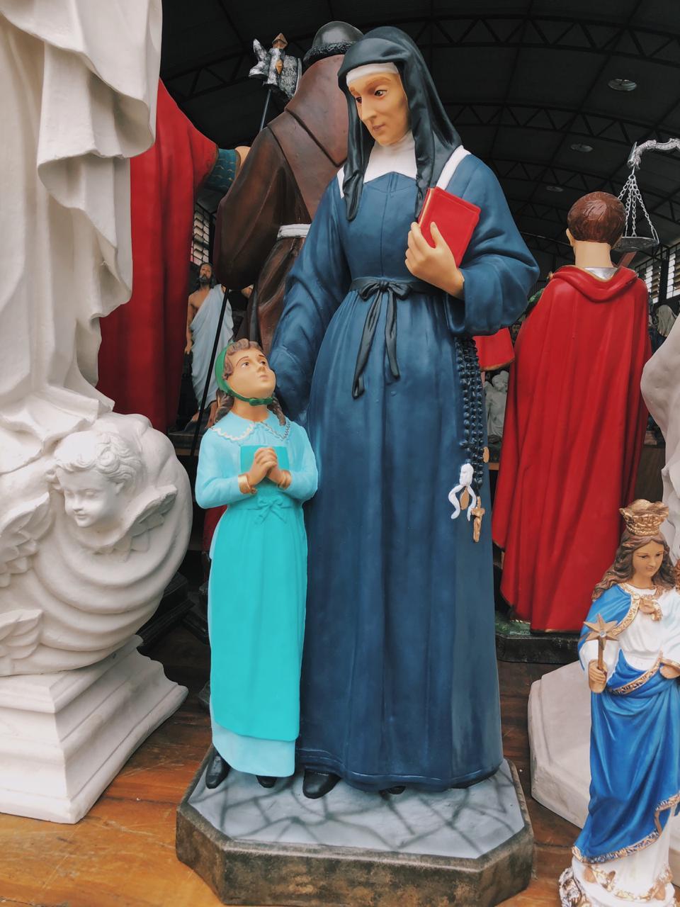 Santa Luísa de Marillac - 87 cm