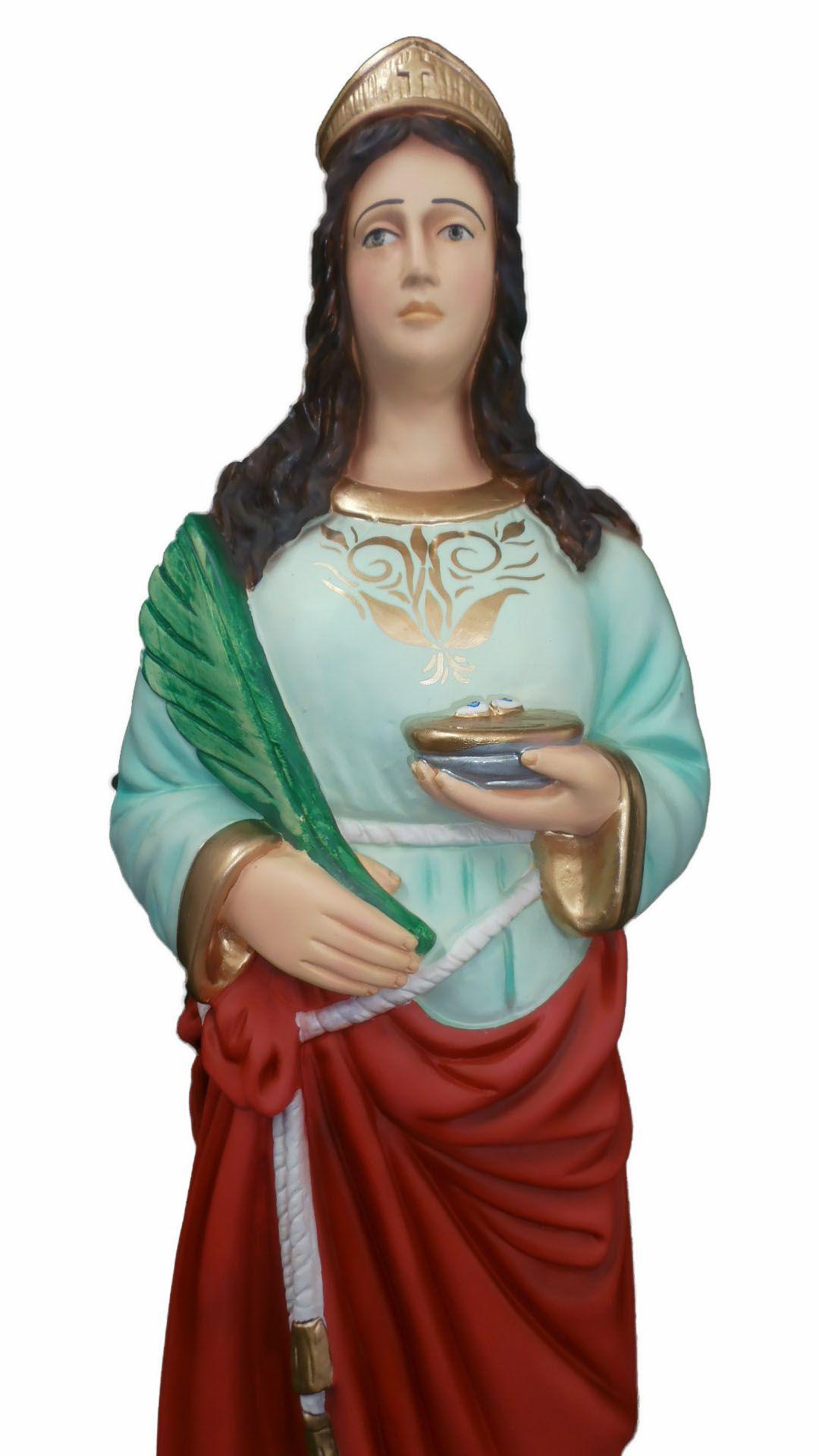 Santa Luzia - 80 cm