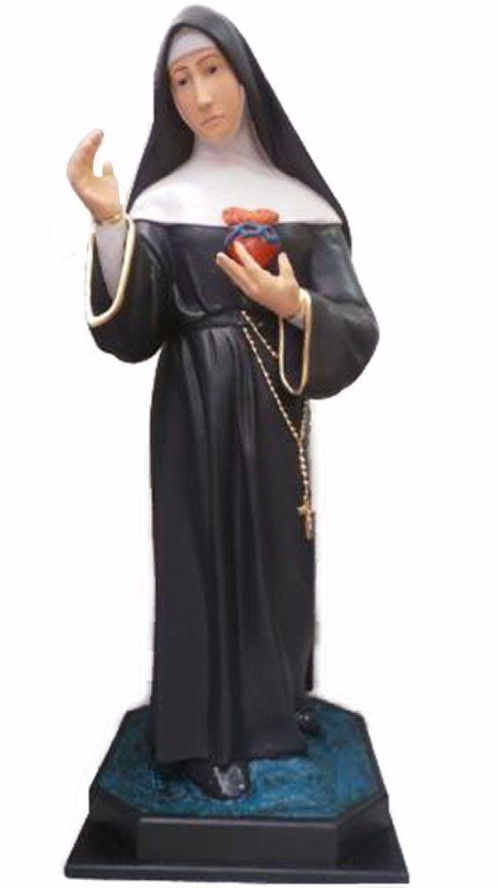 Santa Margarida Maria Alacoque - 100 cm