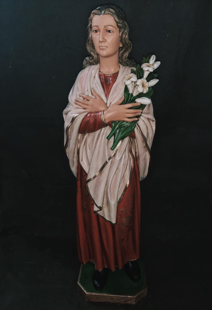 Santa Maria Goretti (Envelhecida) - 125 cm