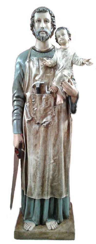São José com Menino Jesus - 160 cm