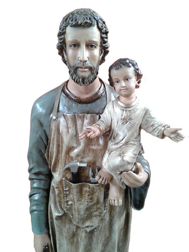 São José Operário - 160 cm - Com Menino Jesus
