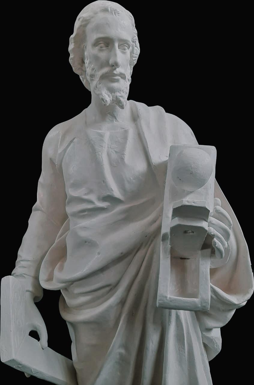 São José Operário (pó de mármore) - 100 cm