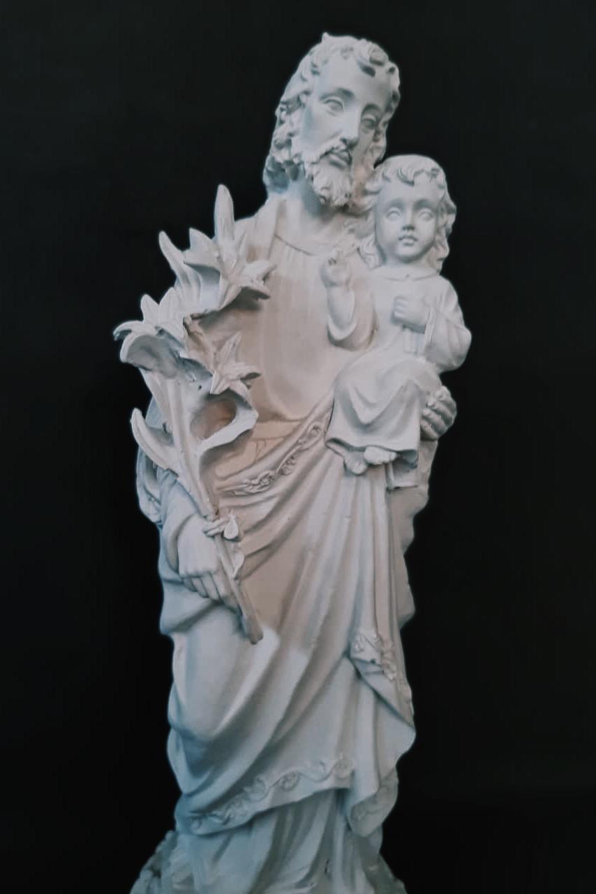São José - 035 cm - (Pó de Mármore)