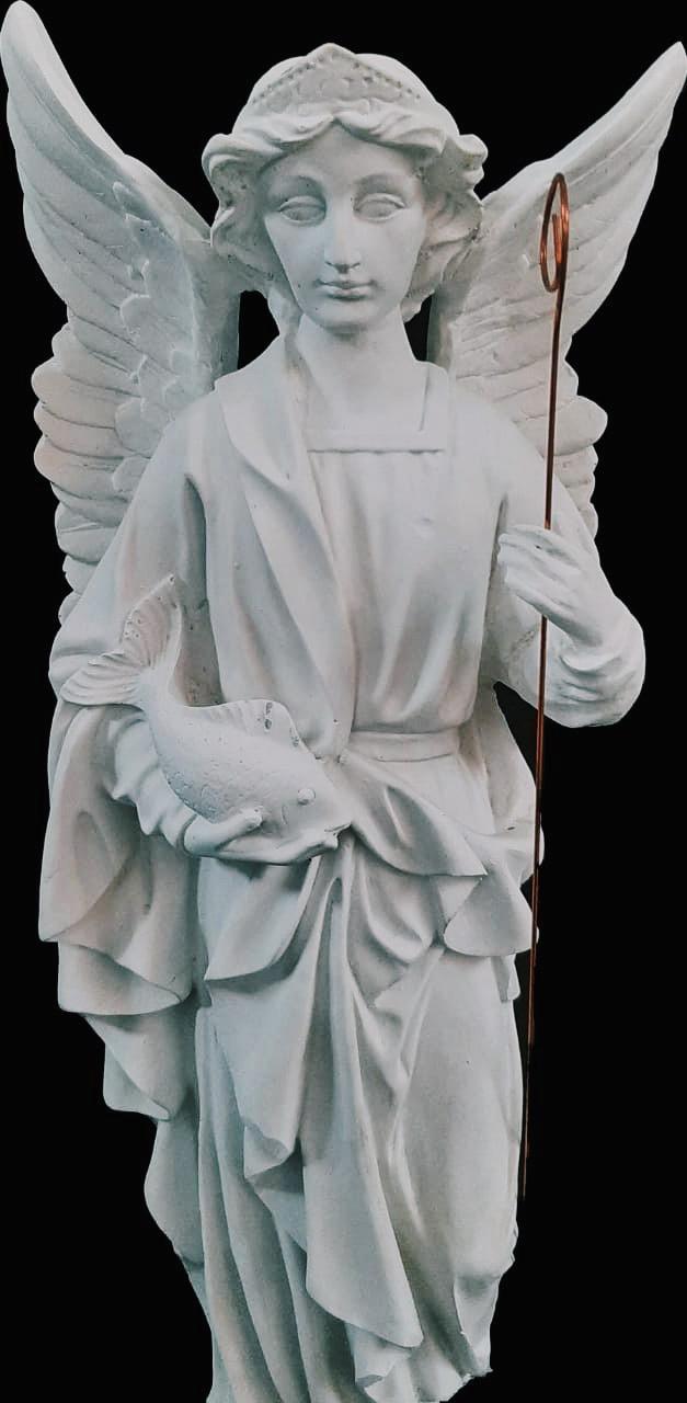 São Rafael Arcanjo - 60 cm (pó de mármore)