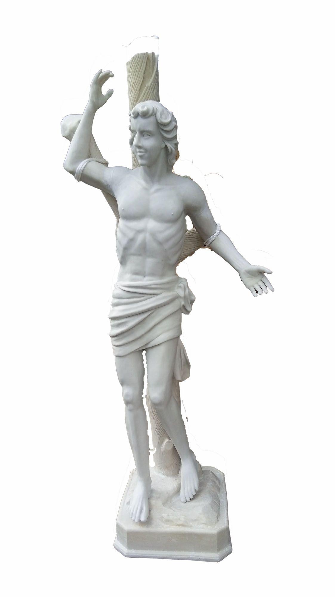 São Sebastião 210 cm - Pó de mármore