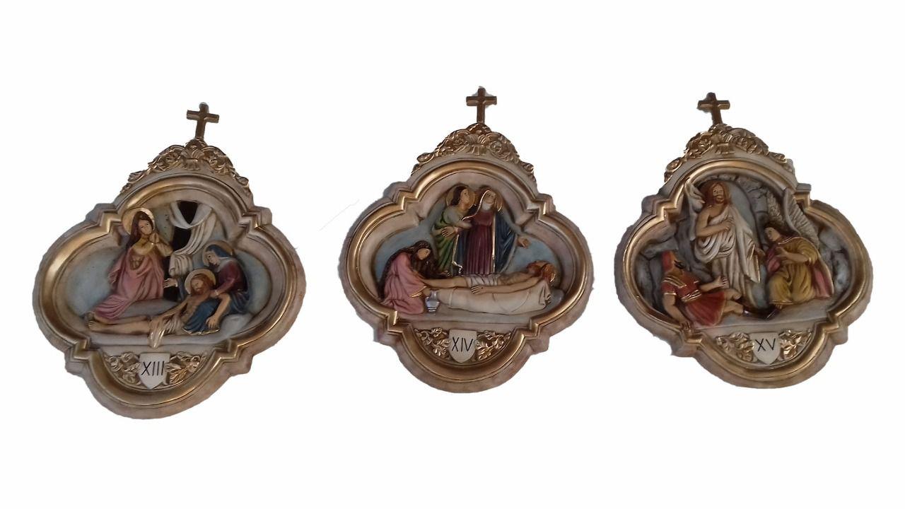 Via Sacra - 26 cm x 22 cm