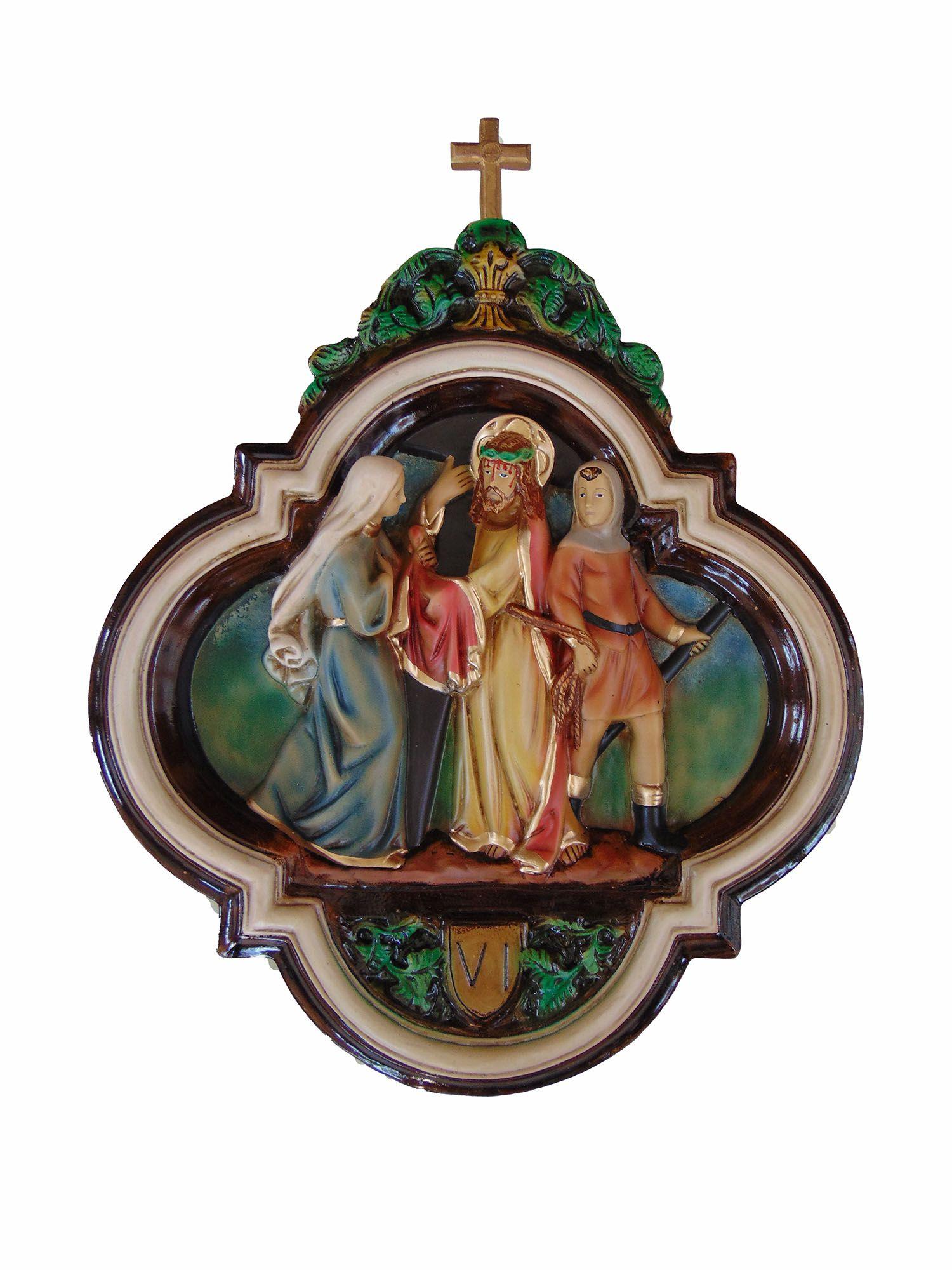 Via Sacra - 50 cm x 65 cm