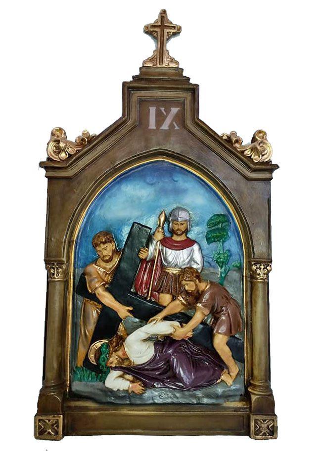 Via Sacra G - 90 cm x 50 cm