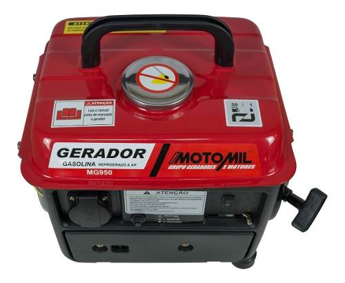 Gerador de energia 800W 1.5hp Mg950 - Motomil