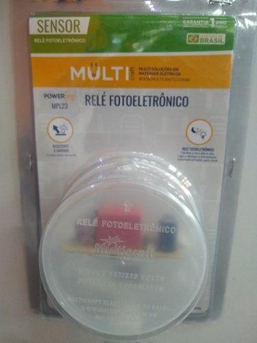 Relé Fotoelétrico 100W Bivolt - Multicraf