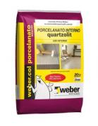 Argamassa Porcelanato uso Interno AC-II - Quartzolit