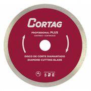 Disco de Corte Diamantado Profissional Plus 180X22MM - Cortag