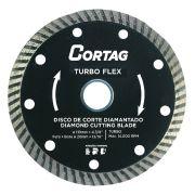 Disco de Corte Diamantado Turbo Flex 115X22MM - Cortag