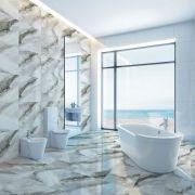Piso Porcelanato Kea Brilhante 70x70cm m² - Delta