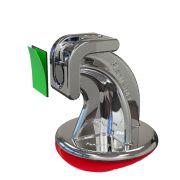 Trava Portas Magnético Cromado com Fixador Dupla Face - Smartfix