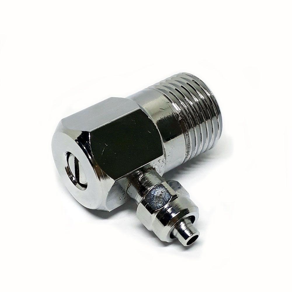 Adaptador de Filtro para Torneira Com Registro Saída 1/4 - Parede