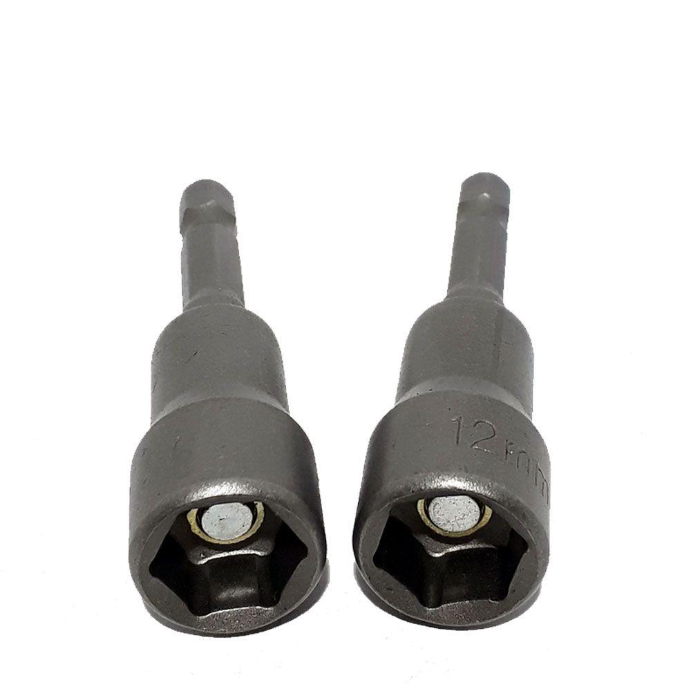Adaptador para parafusadeira 12mm 2 pç - Mtx