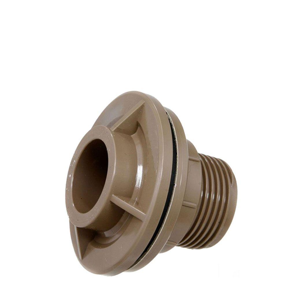 Flange Roscada PVC Soldável com anel 25mm Tigre
