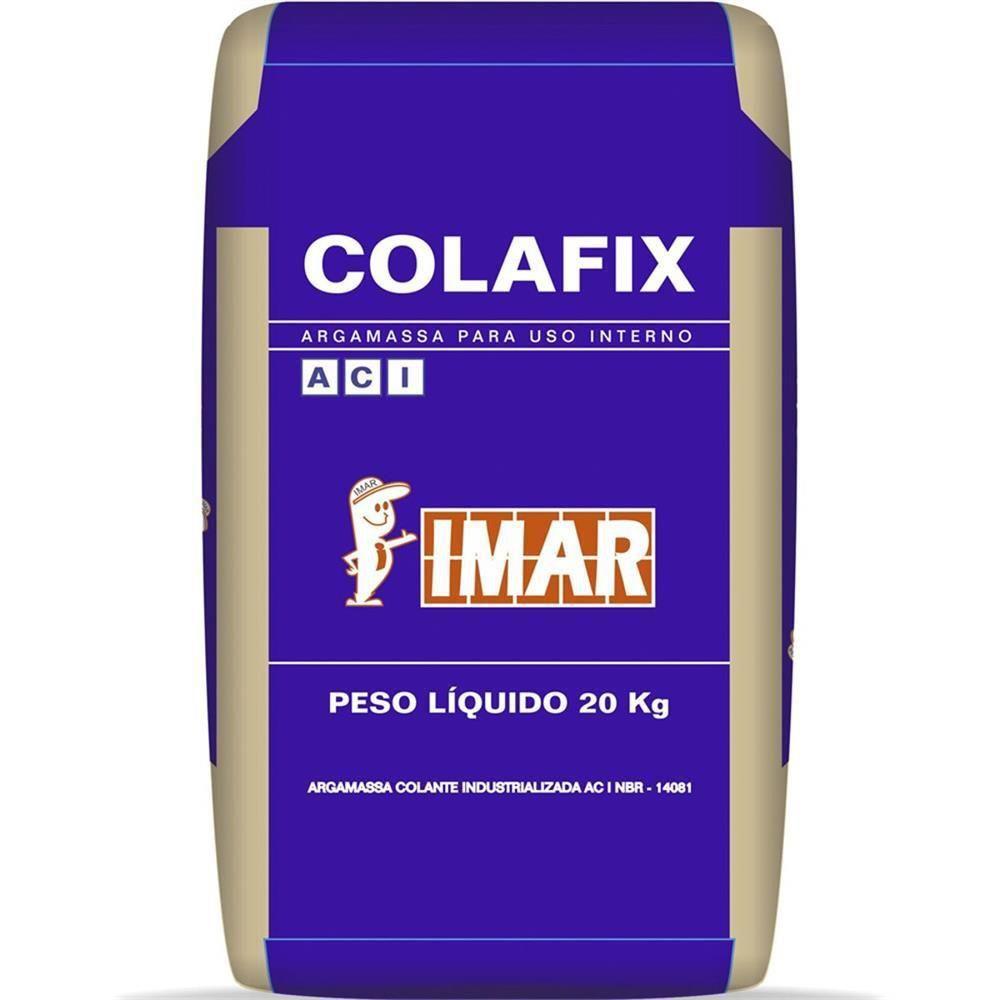 Argamassa Colafix Ac-I Cinza Interna 20Kg - Quartzolit  Imar