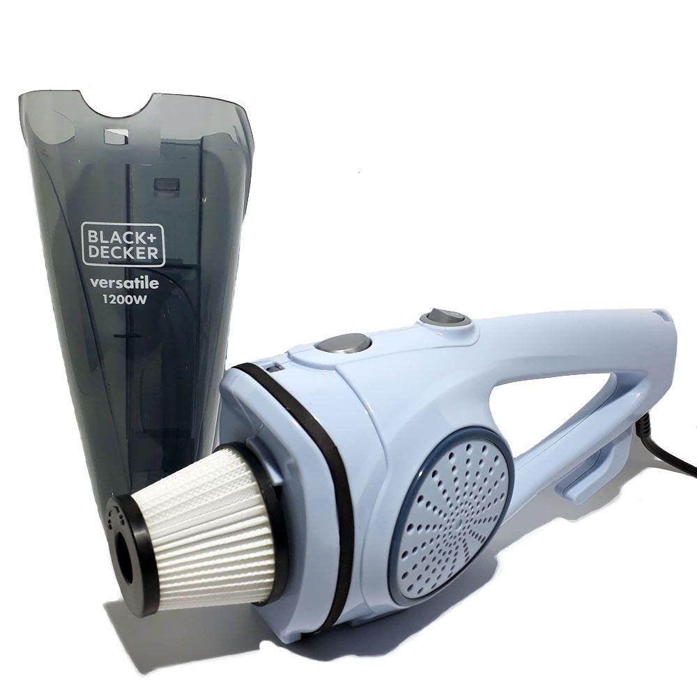 Aspirador 2 em 1 Ciclônico AV12 1200w - Black+Decker