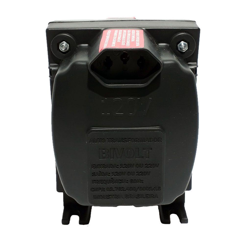 Autotransformador Slim Premium Bivolt 1500VA - Forceline