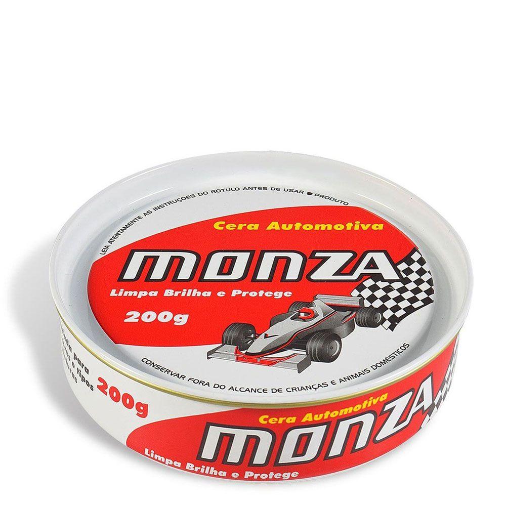 Cera Automotiva 200g - Monza