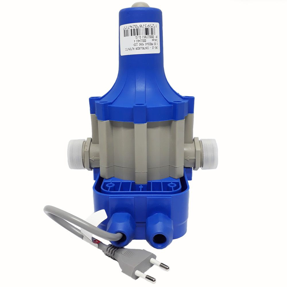Controlador Pressurizador Automático De Pressão Cae-10 - Eletroplas