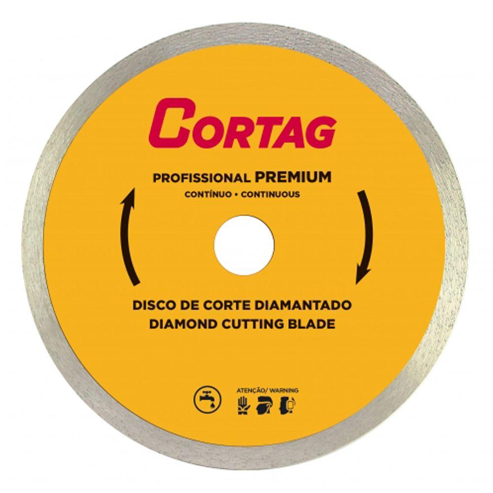 Disco de Corte Diamantado Profissional Premium 180X22MM - Cortag