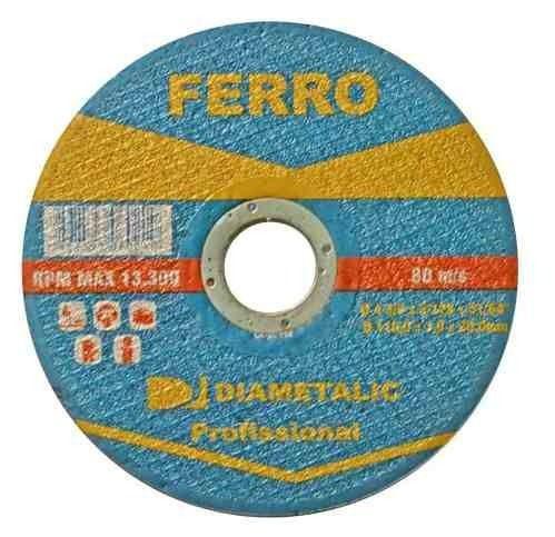 DISCO DE CORTE PARA Ferro / INOX 110x20mm - Diametalic