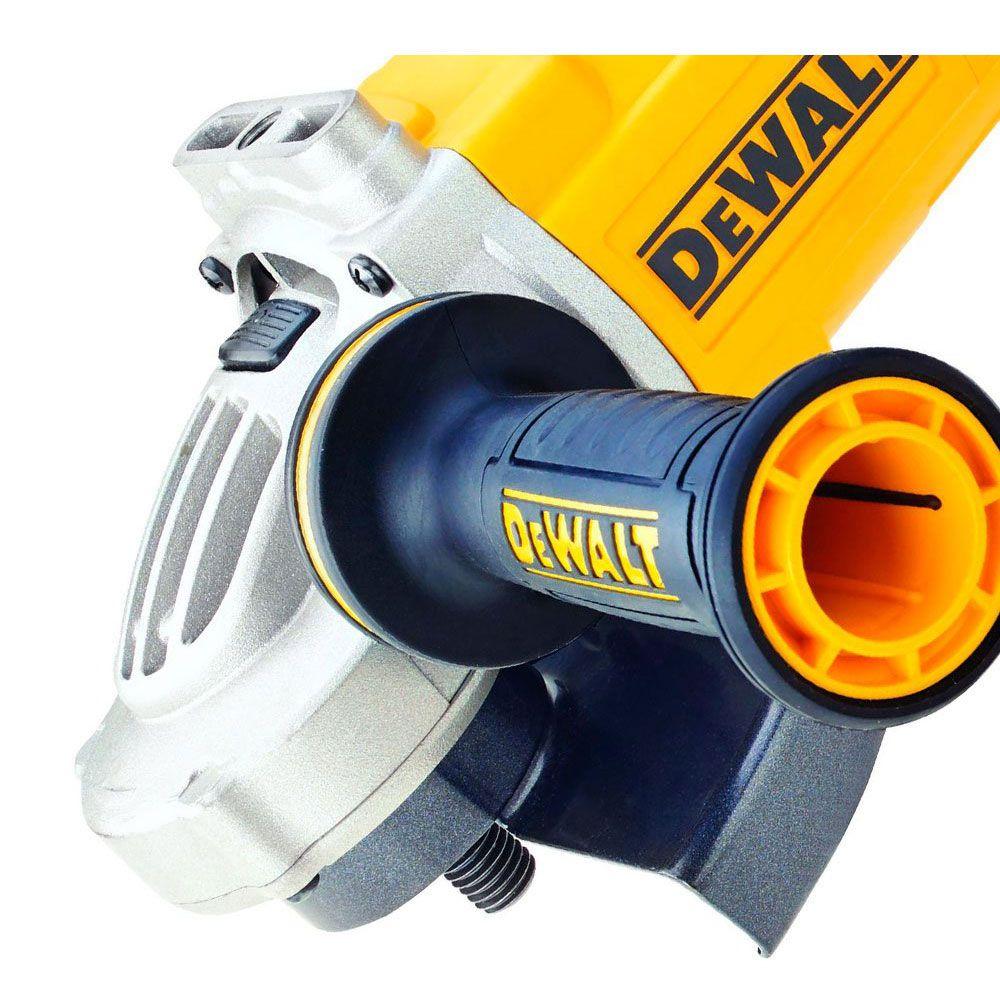 """Esmerilhadeira angular 7"""" DWE497B2 2600W 180mm 220V - DeWalt"""