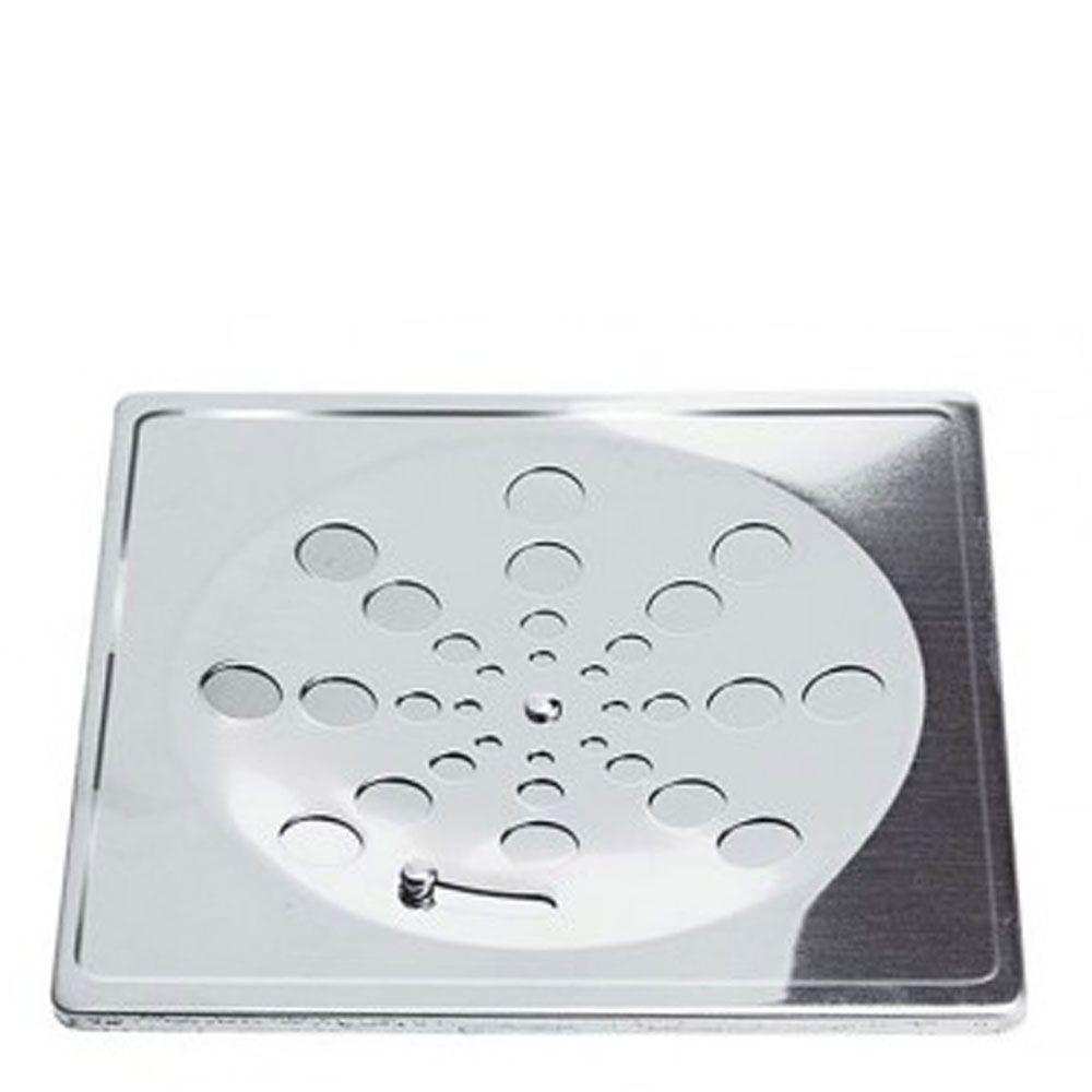 Grelha quadrada de 15cm Inox - Clarinox