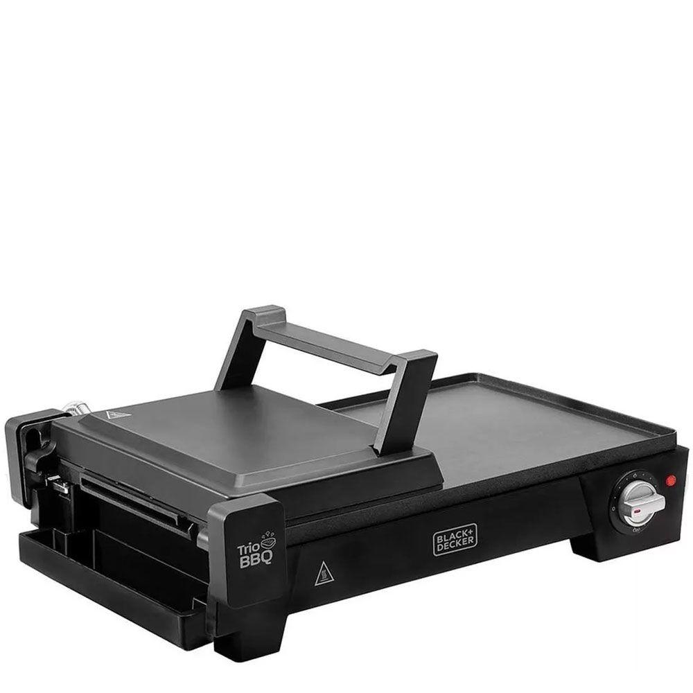 Grill Elétrico 3 em 1 G2200-BR 1500W 127V - Black+Decker