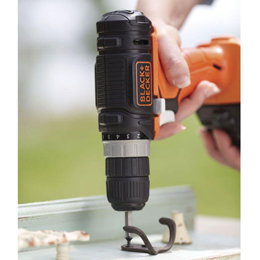 Jogo de Ferramentas a Bateria 12V Lítion 5 em 1 GoPack - Black+Decker
