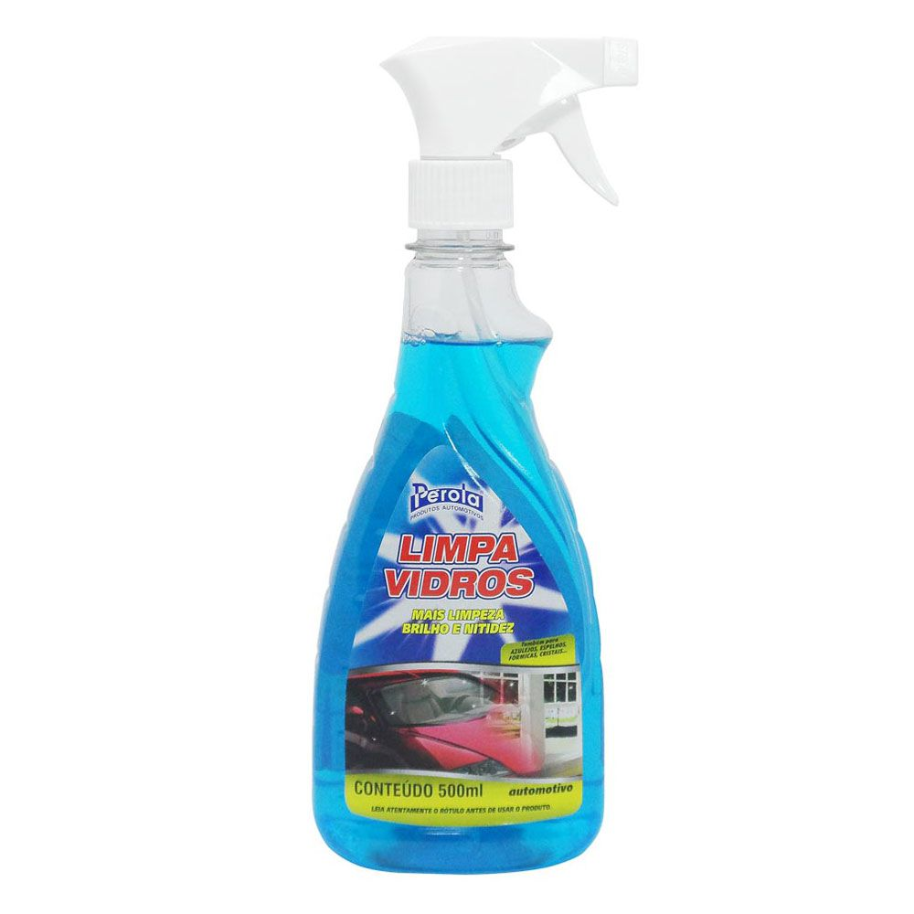 Limpa Vidros Automotivo 500ml - Perola