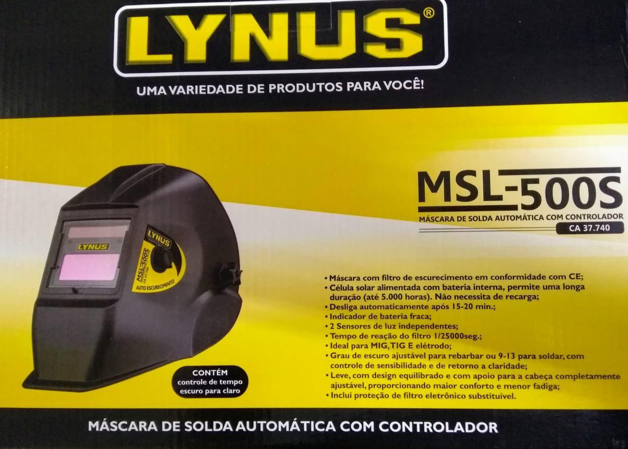 MÁSCARA Para SOLDA AUTOMÁTICA MSL-500S - LYNUS