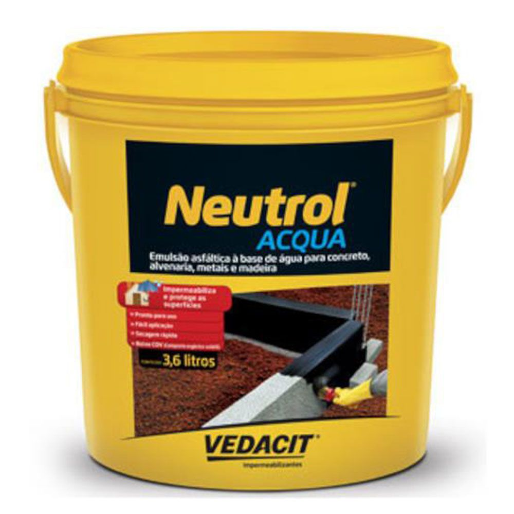 Neutrol Acqua 3,6lt - Vedacit