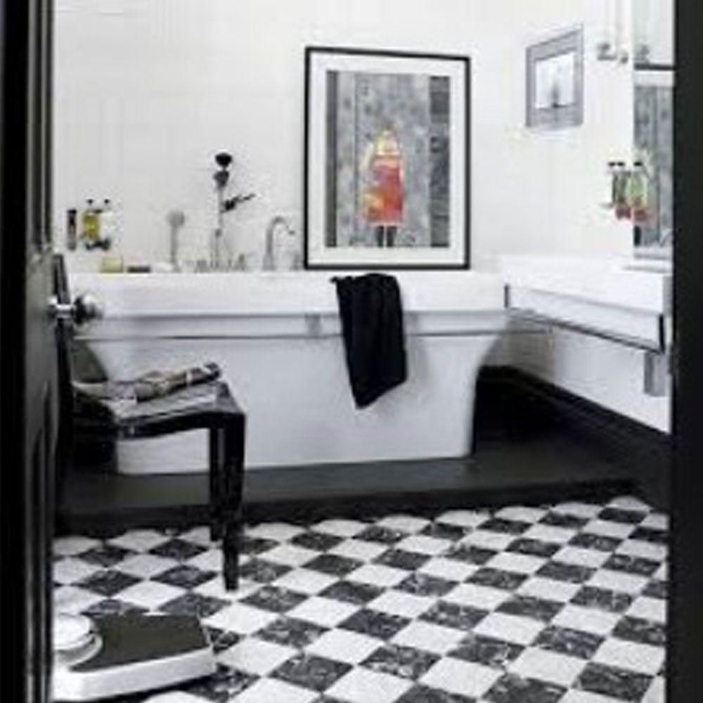 Piso Brilhante Decorado Titânio 45x45cm m² - Formigres