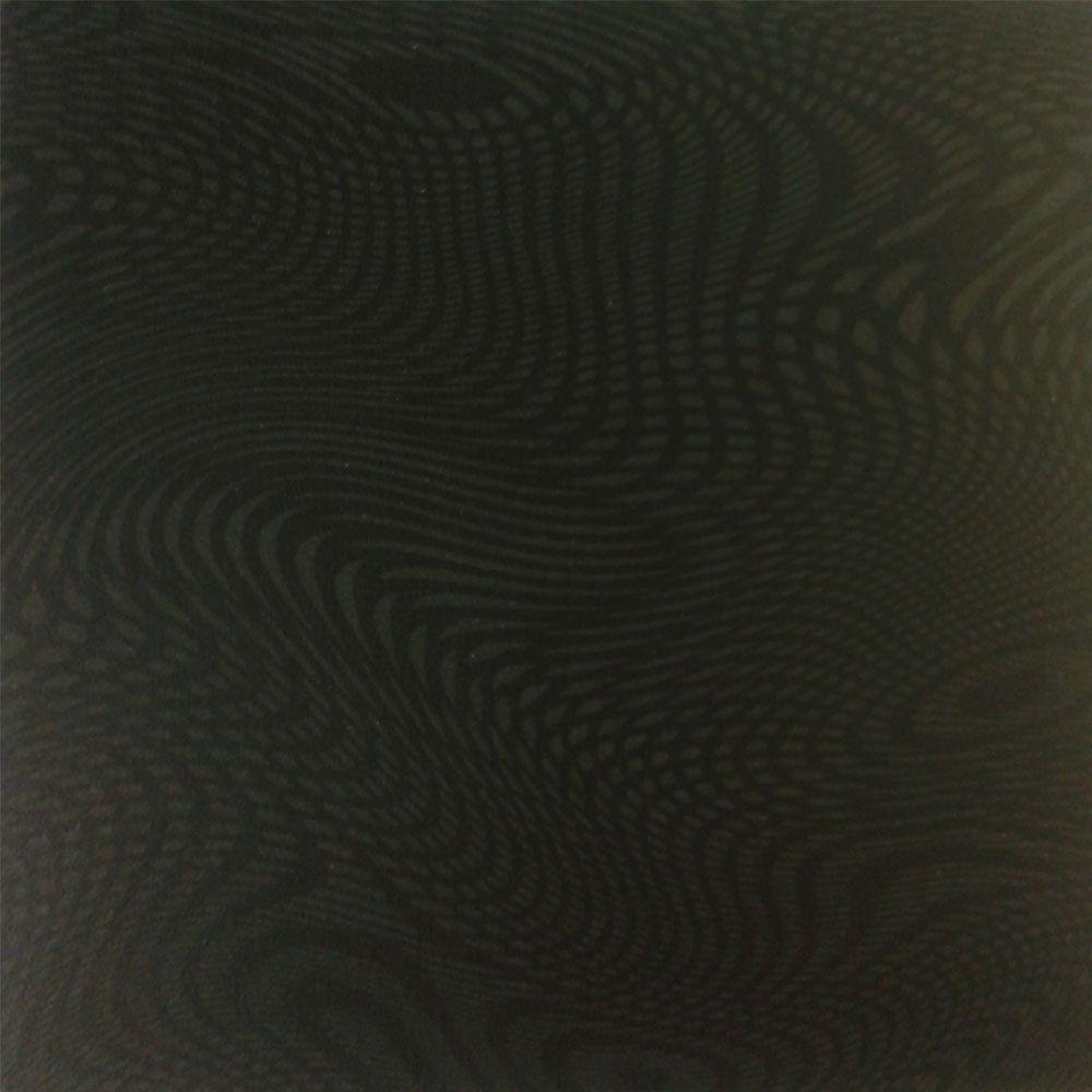 Piso Brilhante Nero 43x43cm m² - Rosagrês