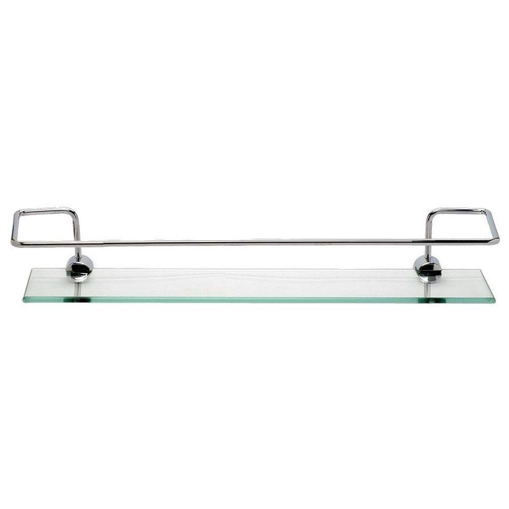 Porta Shampoo com grade Vidro Incolor 40x10cm - Loja Vidros
