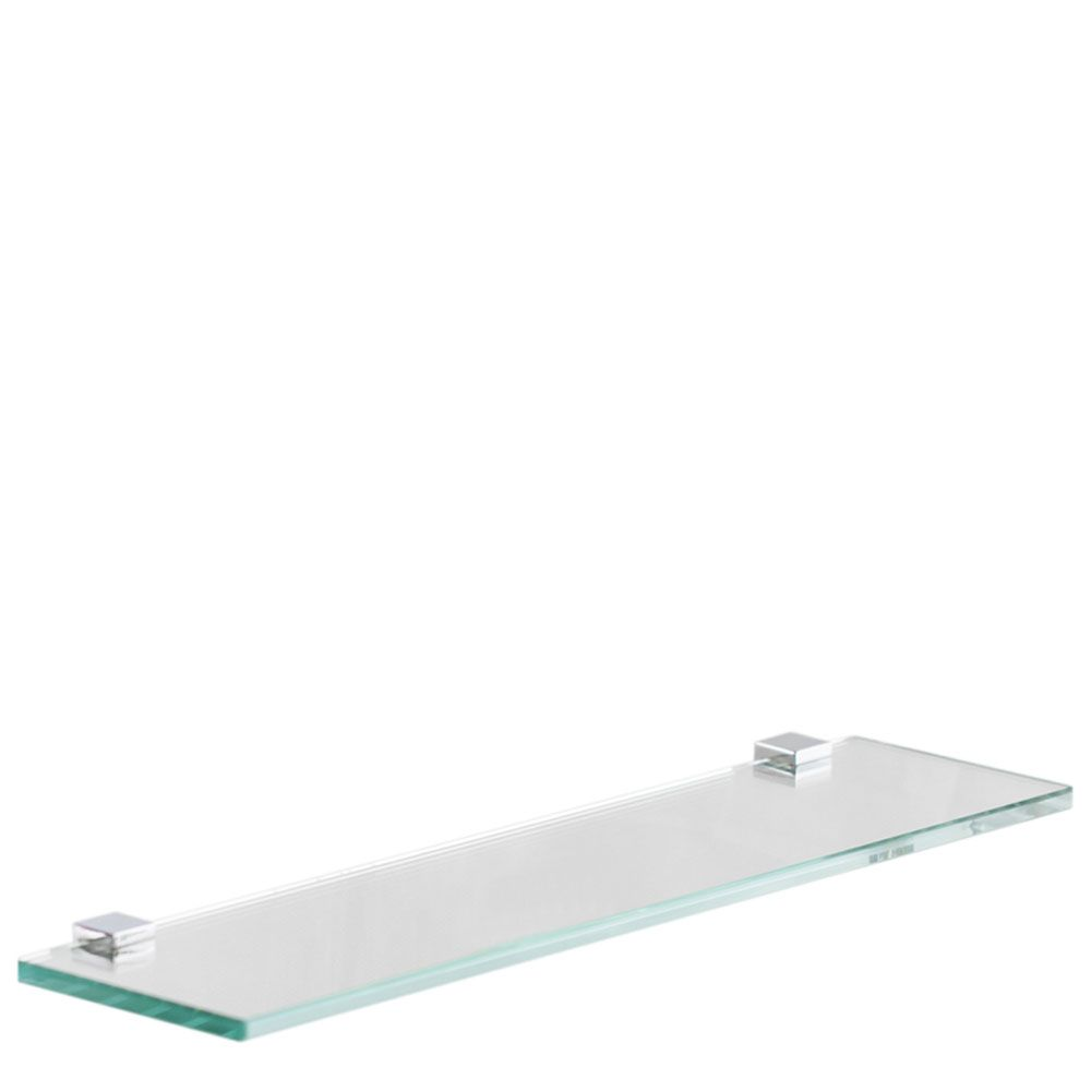 Porta Shampoo Vidro Incolor 40x10cm - Loja Vidro
