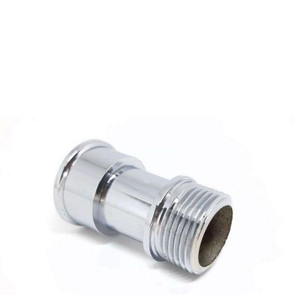 Prolongador Metal Cromado 1/2'' Curto - Dakon