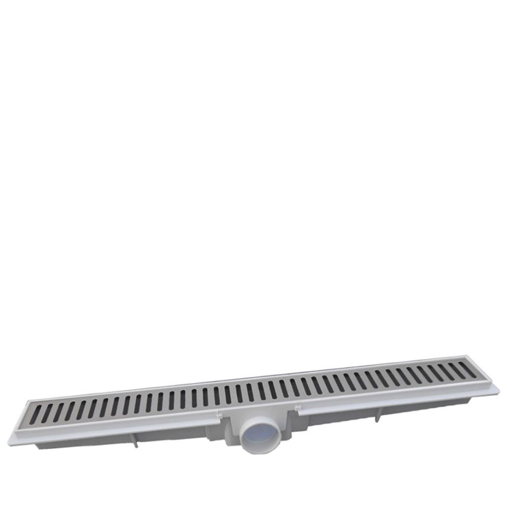 Ralo Linear Inox Perfurada 5x100cm - Lgmais